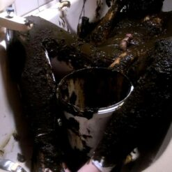 manure fun at home covered completely in cowshit in the bathtub