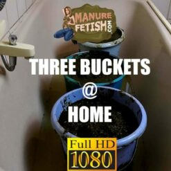 Thre buckets at home