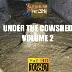 submerging in manure